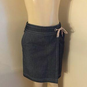 Ann Taylor New Denim Skirt